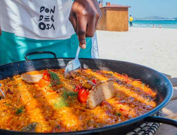 Paellas y arroces en Mallorca