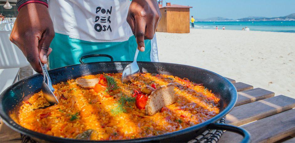 Paellas y arroces Ponderosa Beach Playa de Muro