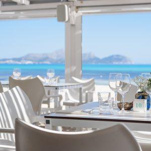 Ponderosa Beach restaurante Playa de Muro Mallorca