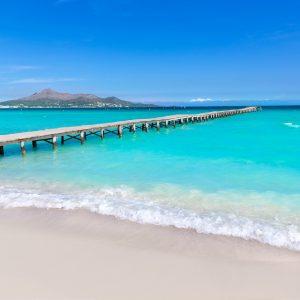Ponderosa Beachclub playa del muro Mallorca