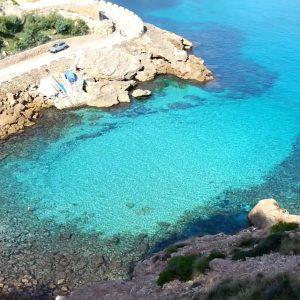 Cala Figuera Ponderosa Beach calas escondidas norte Mallorca
