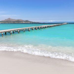 best beaches north mallorca ponderosa beach playa de muro