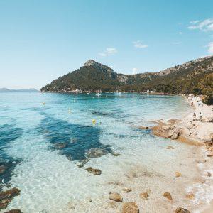 best beaches north mallorca ponderosa formentor