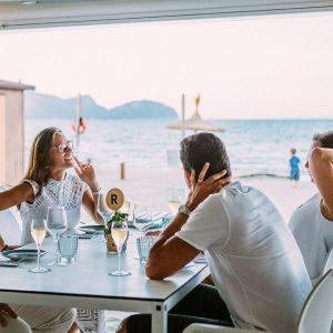 plan verano paella ponderosa beach mallorca